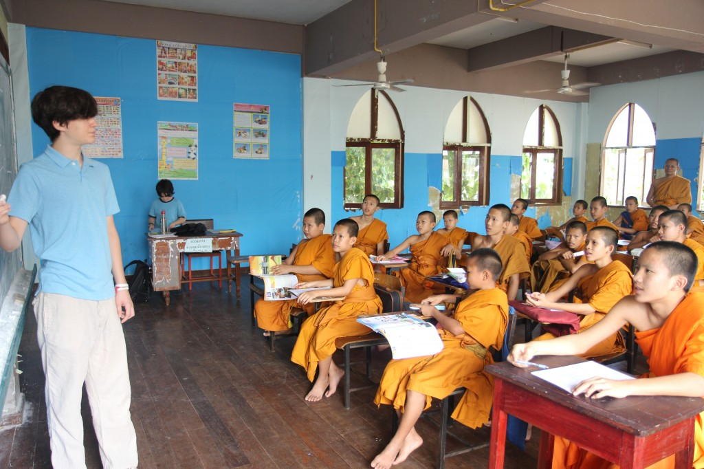 teaching in the monastery school