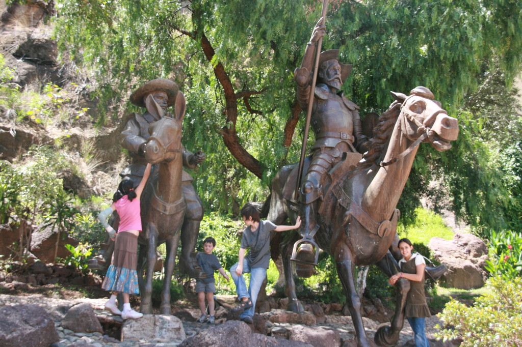 Guanajuato is well-known for it's Cervantes festival and Don Quixote museum
